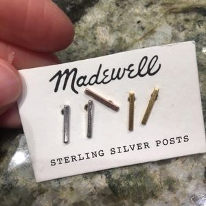 Madewell earring posts